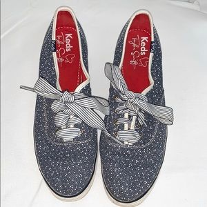 KEDS X Taylor Swift blue tennis shoes size 8